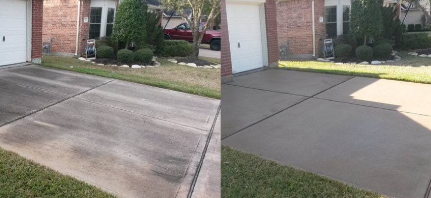 dthe woodlands driveway cleaning