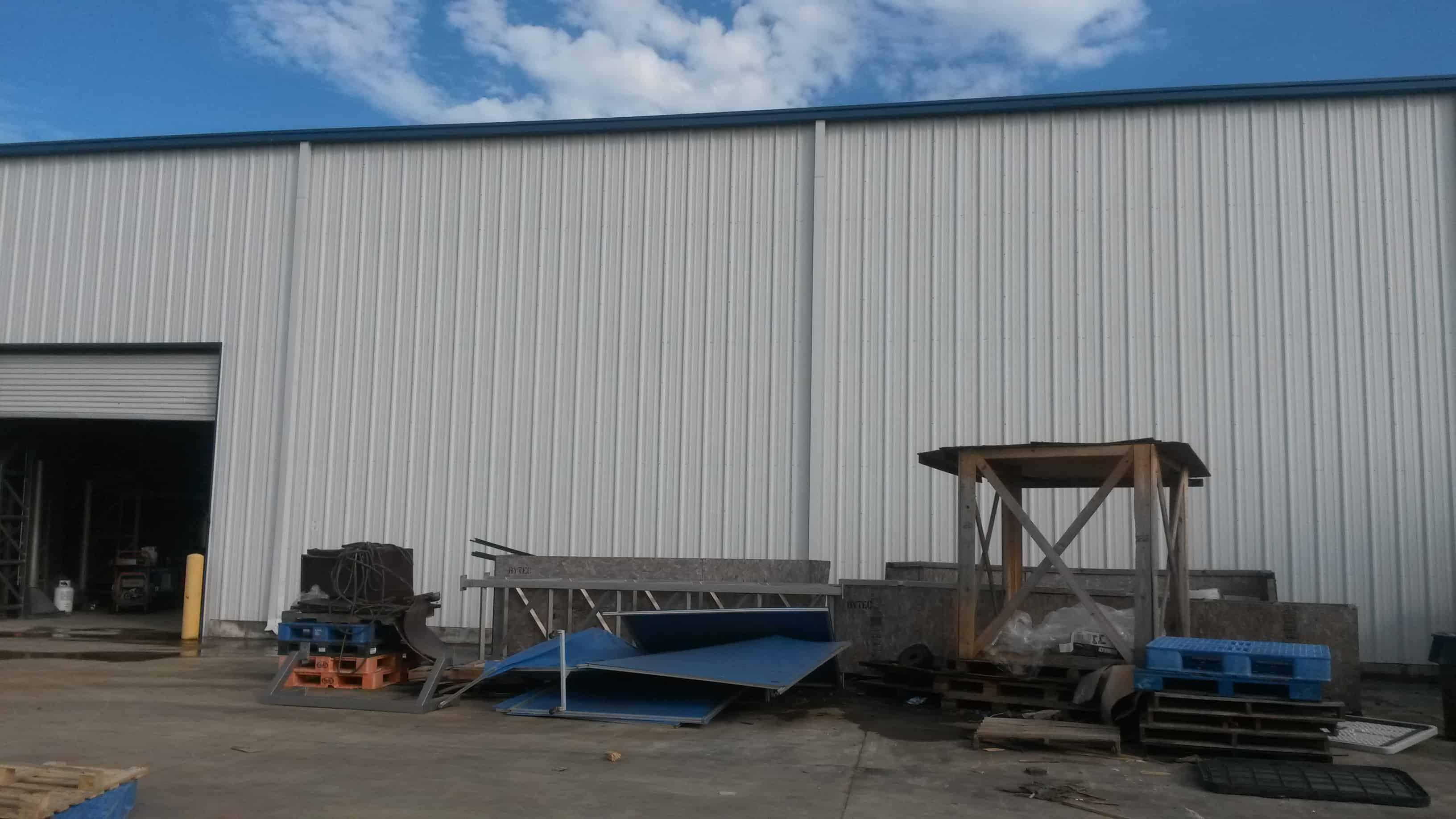 Warehouse Walls After